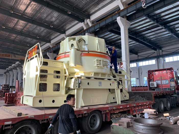 6X1250 Sand Making Machine Is Delivered Cambodia